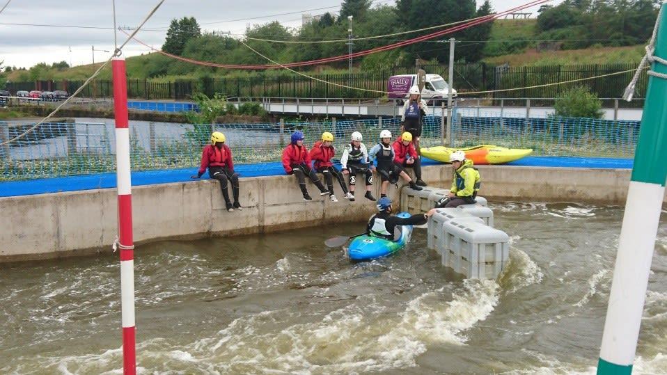 Greenspace Scotland | Go Kayaking at Pinkston Watersports