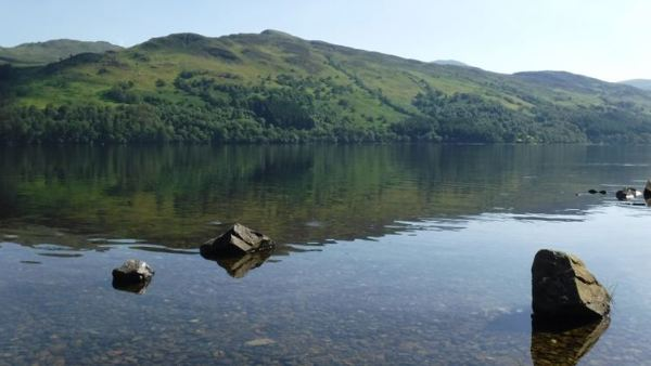 Loch Earn from the waterside