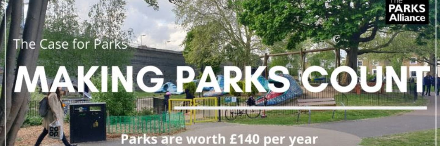 The Parks Alliance publishes 'Making Parks Count – The case for parks'