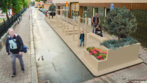1 min city - parking spaces to parklets