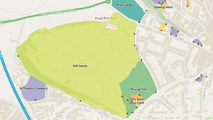Greenspace map