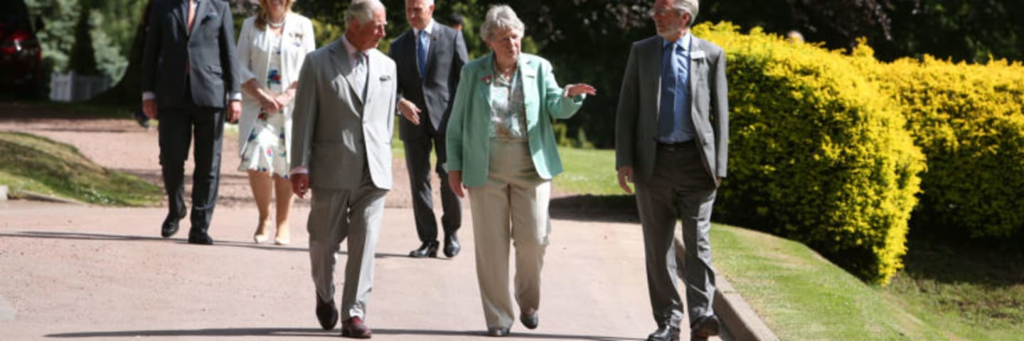 Royal visit to Castlebank Park, Lanark