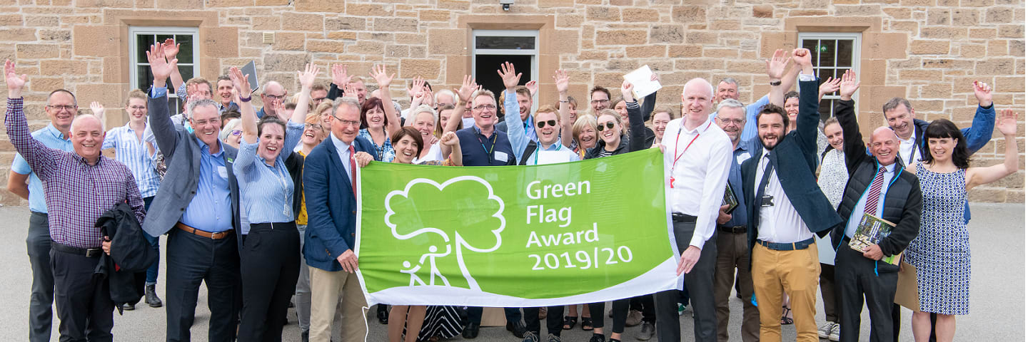 Celebrating Green Flag with the Park Managers Forum
