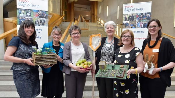 Tesco Bags of Help grants and Covid-19