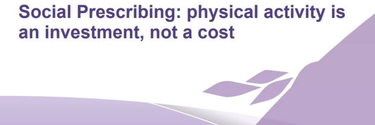 Social prescribing report published