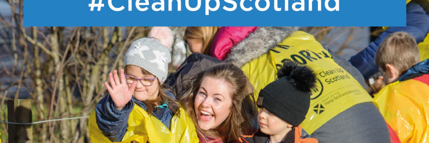 Take part in the national Spring clean with Keep Scotland Beautiful